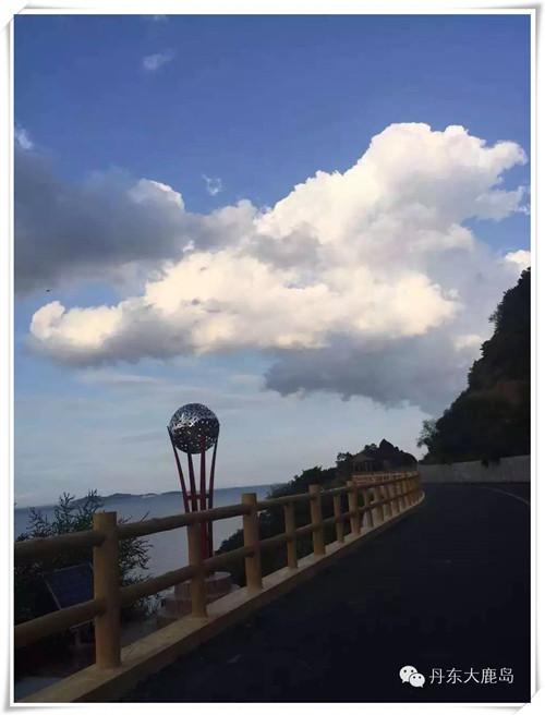 大鹿岛晨跑拍摄