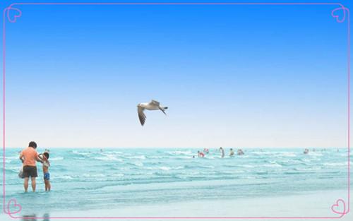 大鹿岛月亮湾双珠滩