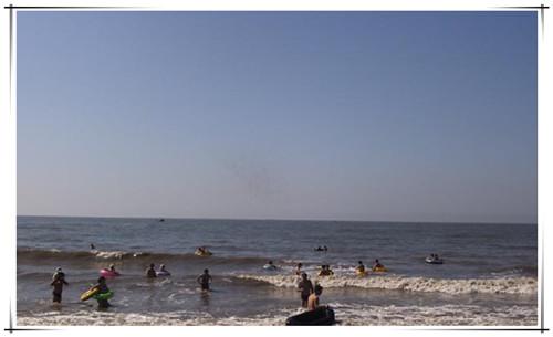 大鹿岛游泳6