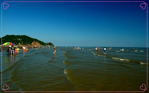 大鹿岛月亮湾浴场4