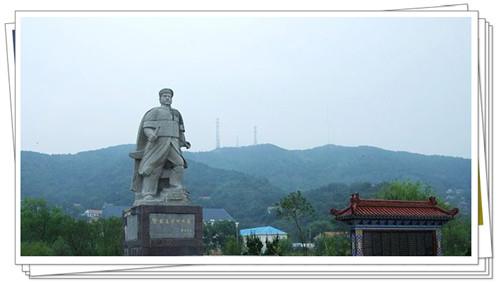 邓世昌墓碑和雕像3