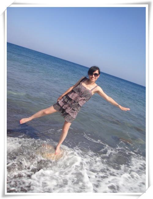 拥抱大海——丹东大鹿岛旅游踏浪