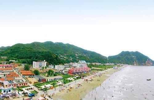丹东大鹿岛风景展示