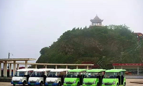 大鹿岛观光车