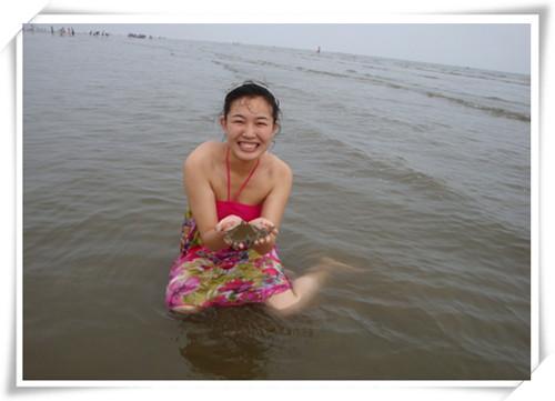 大鹿岛游泳2