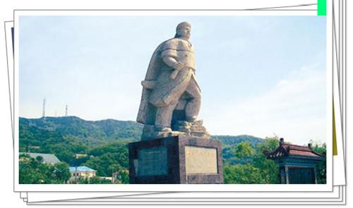 邓世昌墓碑和雕像1