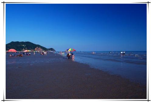 大鹿岛月亮湾浴场5