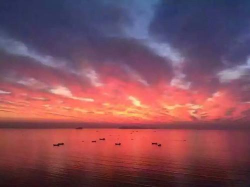 大鹿岛夕阳