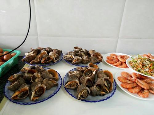 大鹿岛海鲜盛宴
