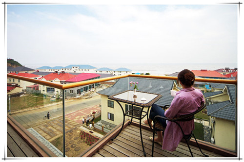 花水木大酒店天台观景